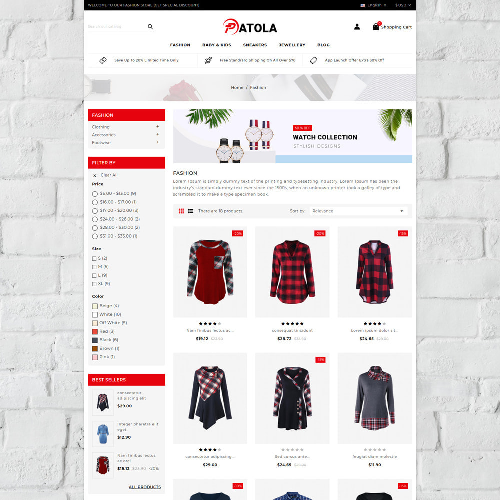 theme - Moda & Calçados - Patola - Fashion Store - 3