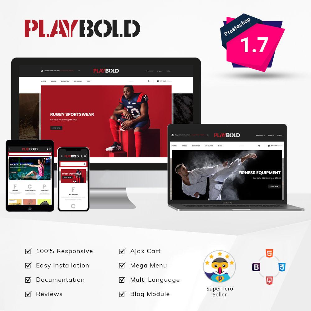 theme - Sports, Activities & Travel - Playbold - Sports Store - 1