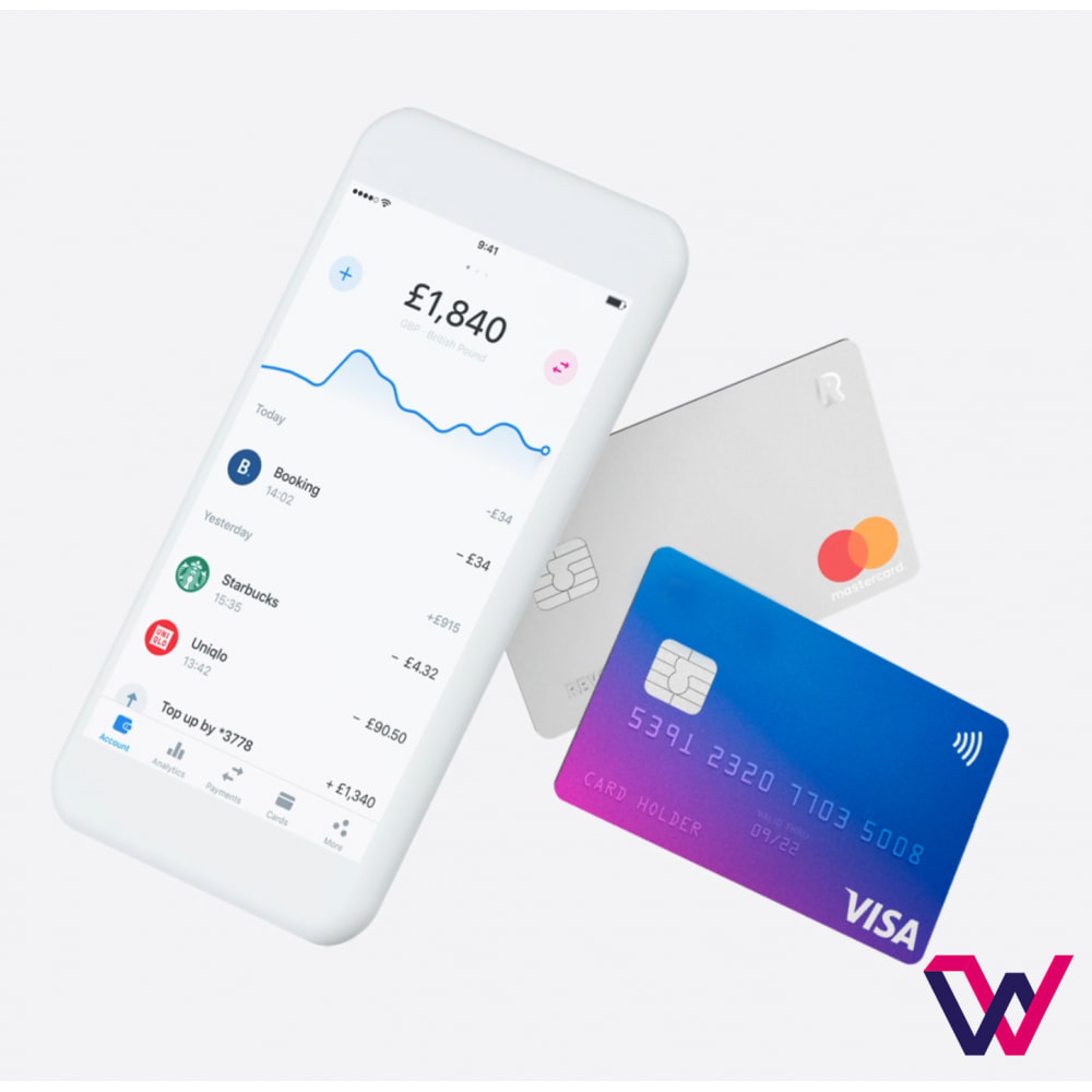 module - Pagamento con Carta di Credito o Wallet - REVOLUT.ionary Payments with QR Code - 6