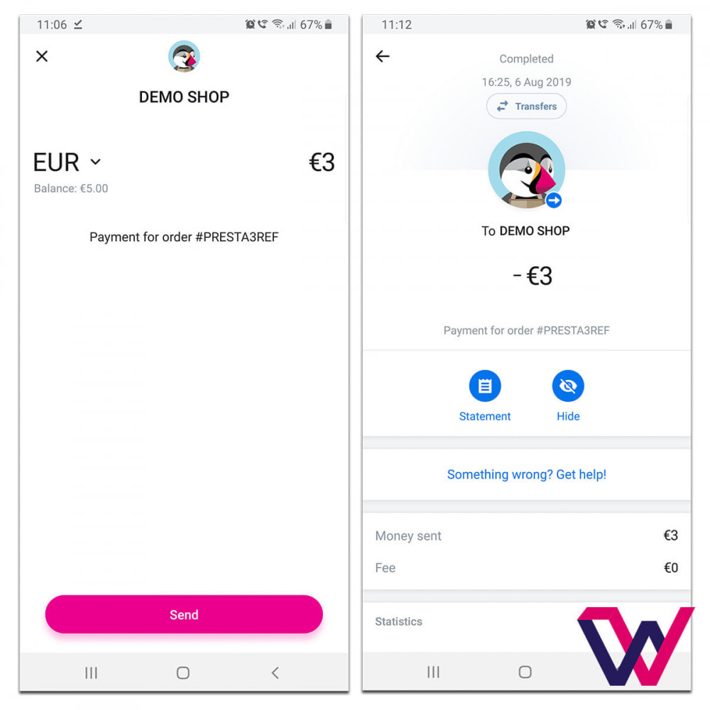 module - Pagamento con Carta di Credito o Wallet - REVOLUT.ionary Payments with QR Code - 7