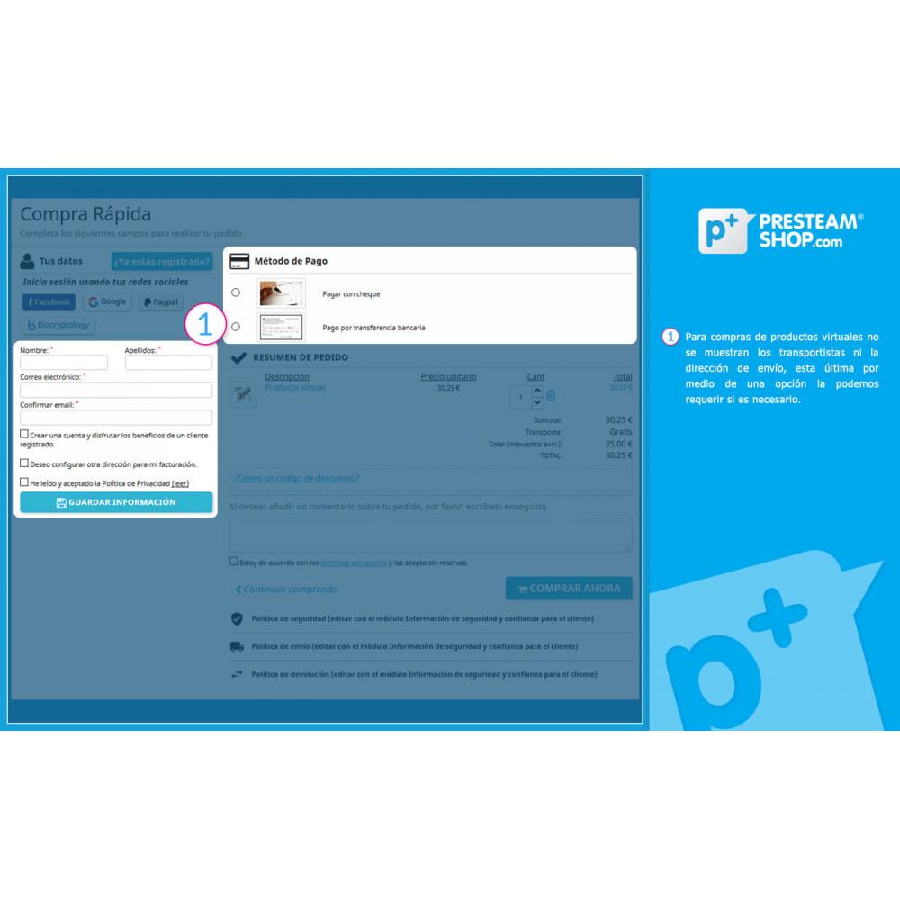 module - Proceso rápido de compra - One Page Checkout PS (Fácil, Rápido e Intuitivo) - 12