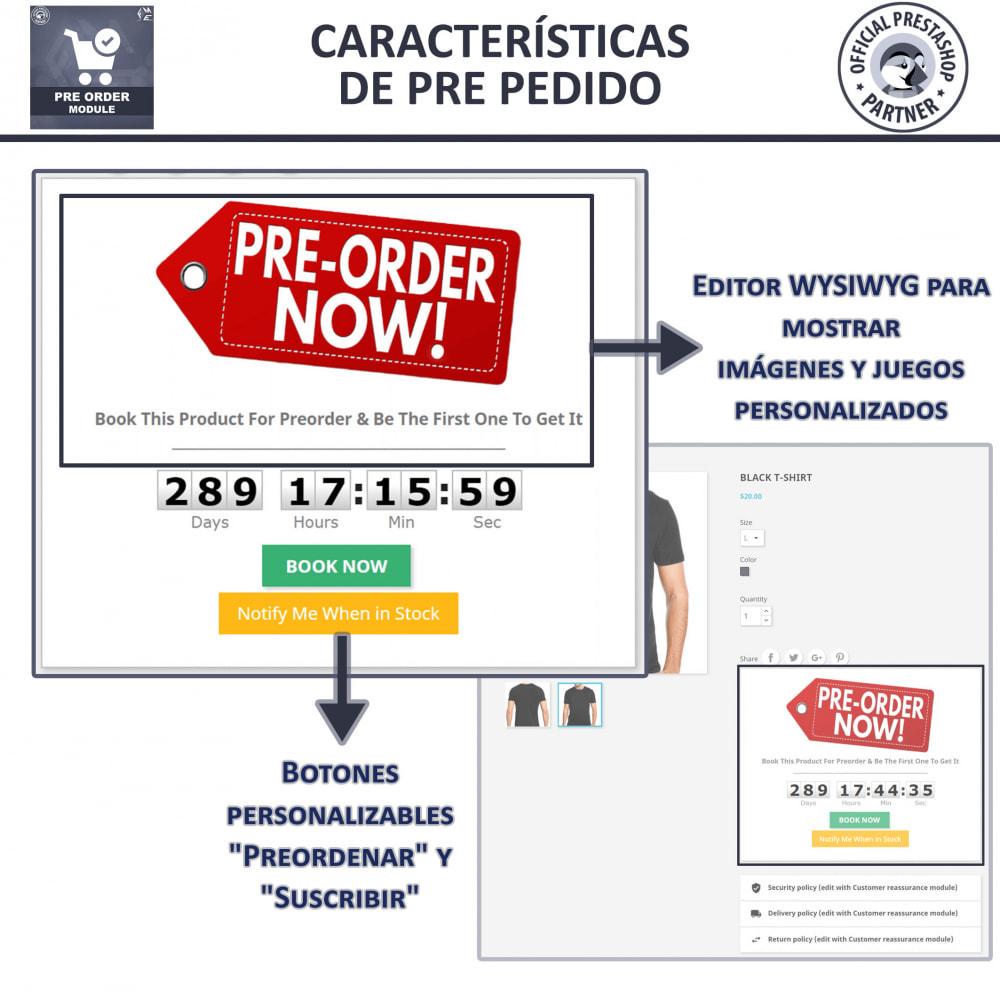 module - Inscripción y Proceso del pedido - Pre-Order - Advance Booking   Out of Stock Selling - 4
