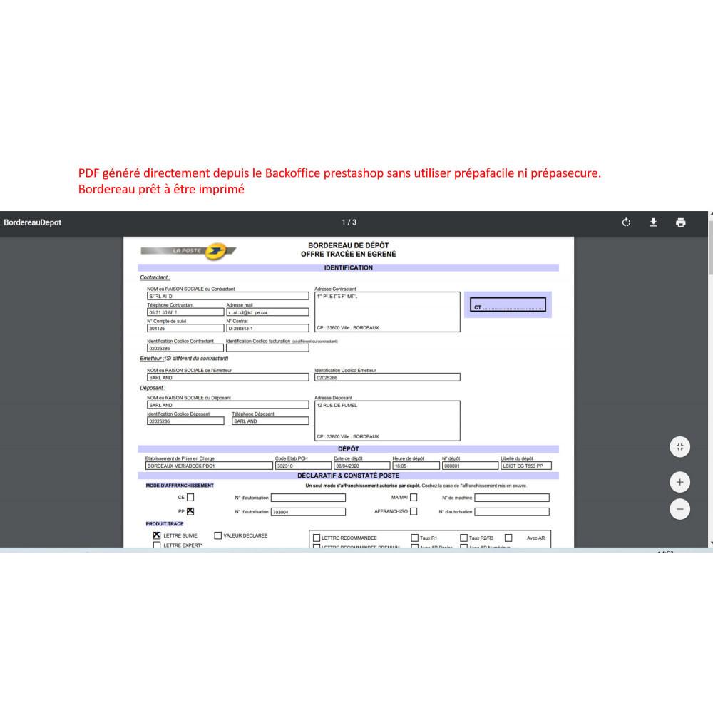 module - Badges & Logos - labeling port paye poste - 2