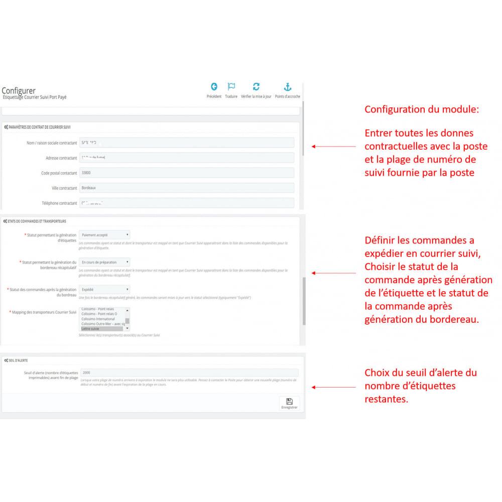 module - Badges & Logos - labeling port paye poste - 6