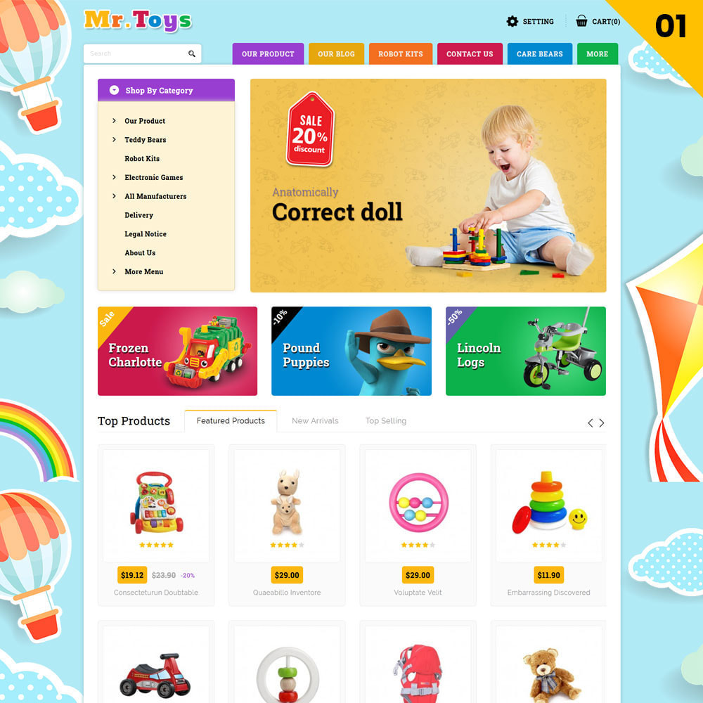 theme - Kinder & Spielzeug - Mr Toys - The Toy Shop - 3