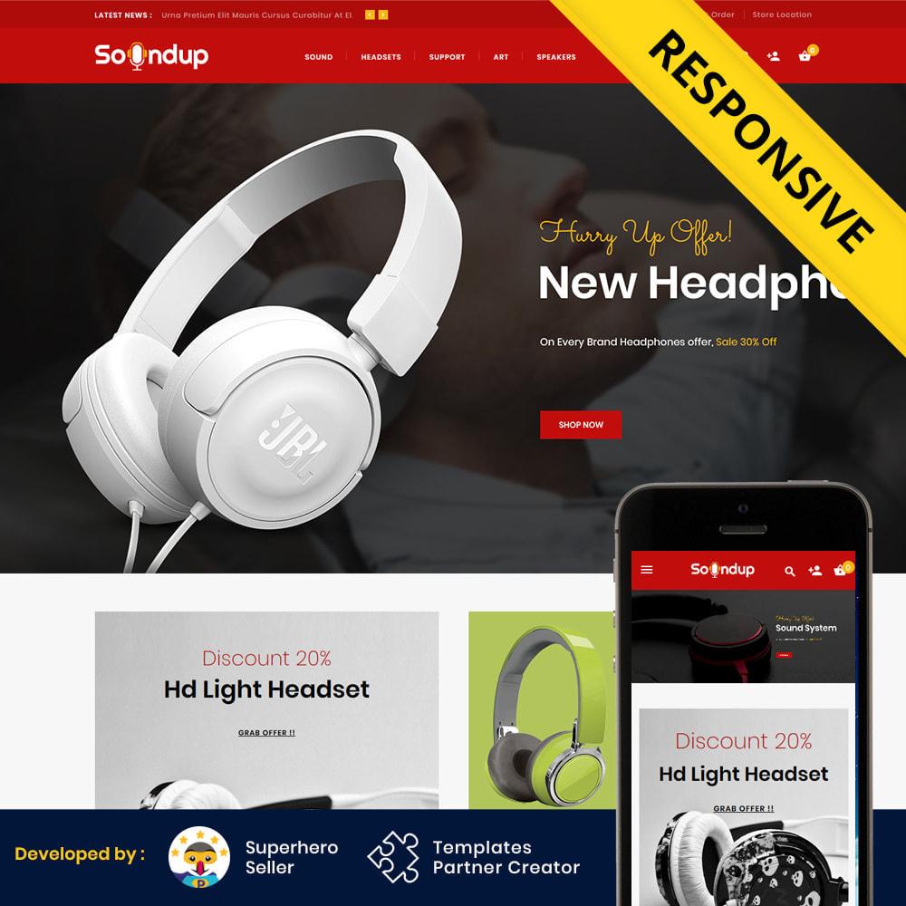 theme - Electronics & Computers - Soundup - Music Store - 2