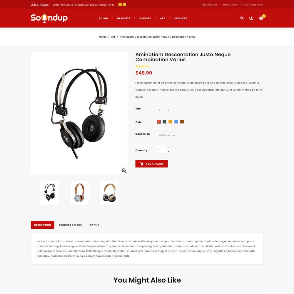theme - Electronics & Computers - Soundup - Music Store - 4