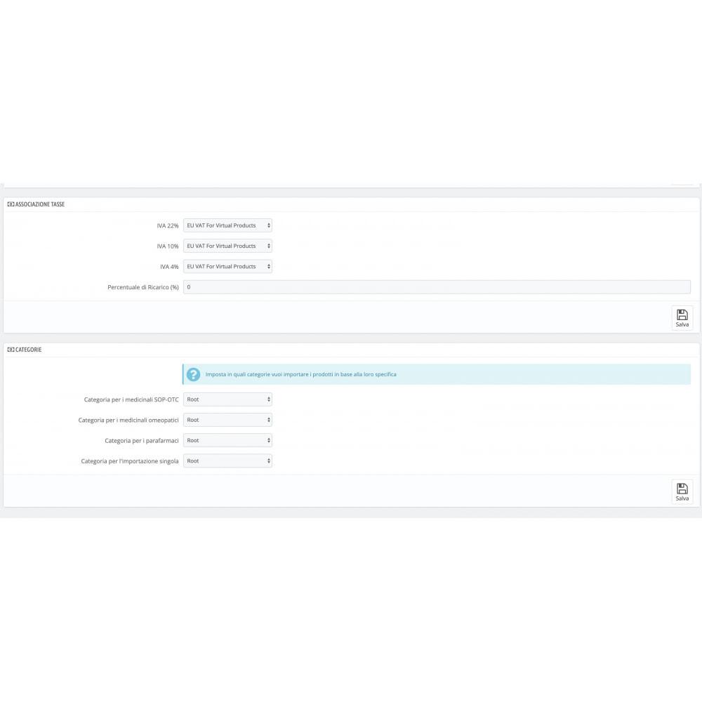 module - Data Import & Export - Importazione FarmaDati - Massivo - 7