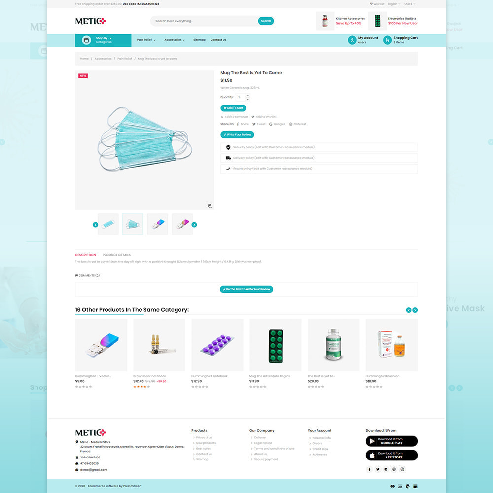 theme - Health & Beauty - Metic - Medical Supplies Store - 4