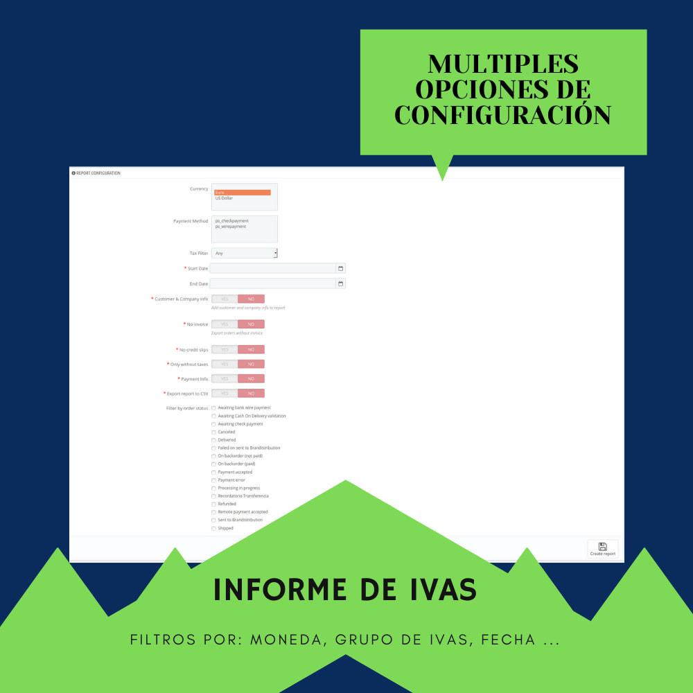 module - Contabilidad y Facturas - Resumen del IVA - 2