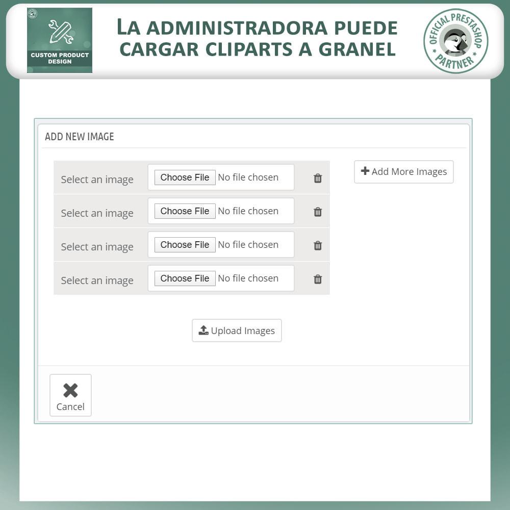 module - Combinaciones y Personalización de productos - Diseñador de productos personalizados - 14
