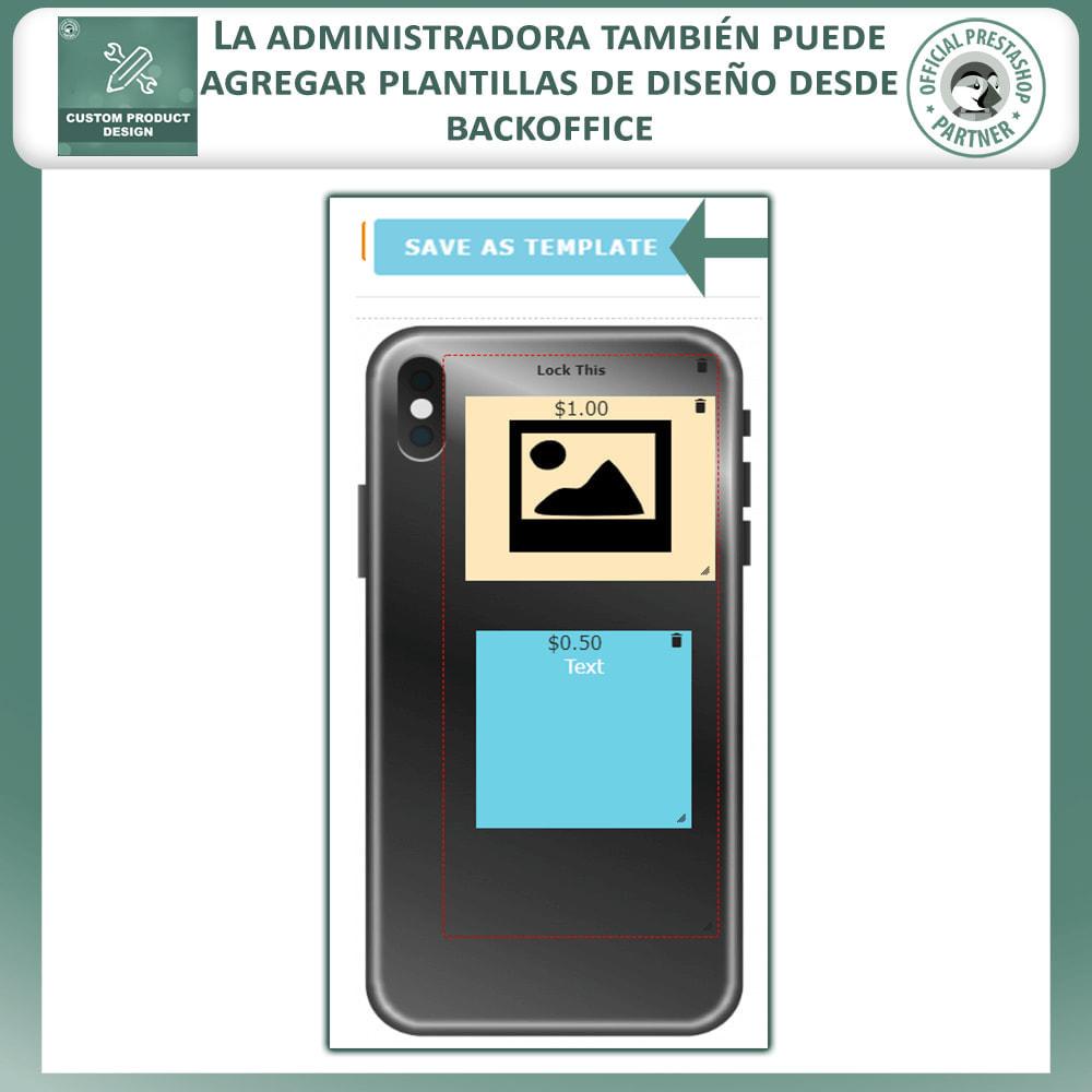 module - Combinaciones y Personalización de productos - Diseñador de productos personalizados - 19