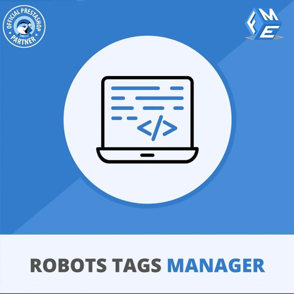 module - SEO (Indicizzazione naturale) - Meta Robot Tags - NoFollow NoIndex Manager - 1