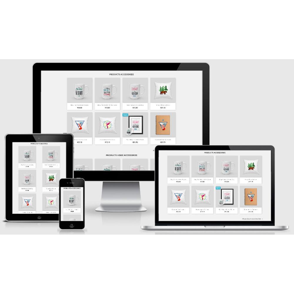 module - Produits en page d'accueil - Home Product by Category - Blocs produits par catégorie - 2