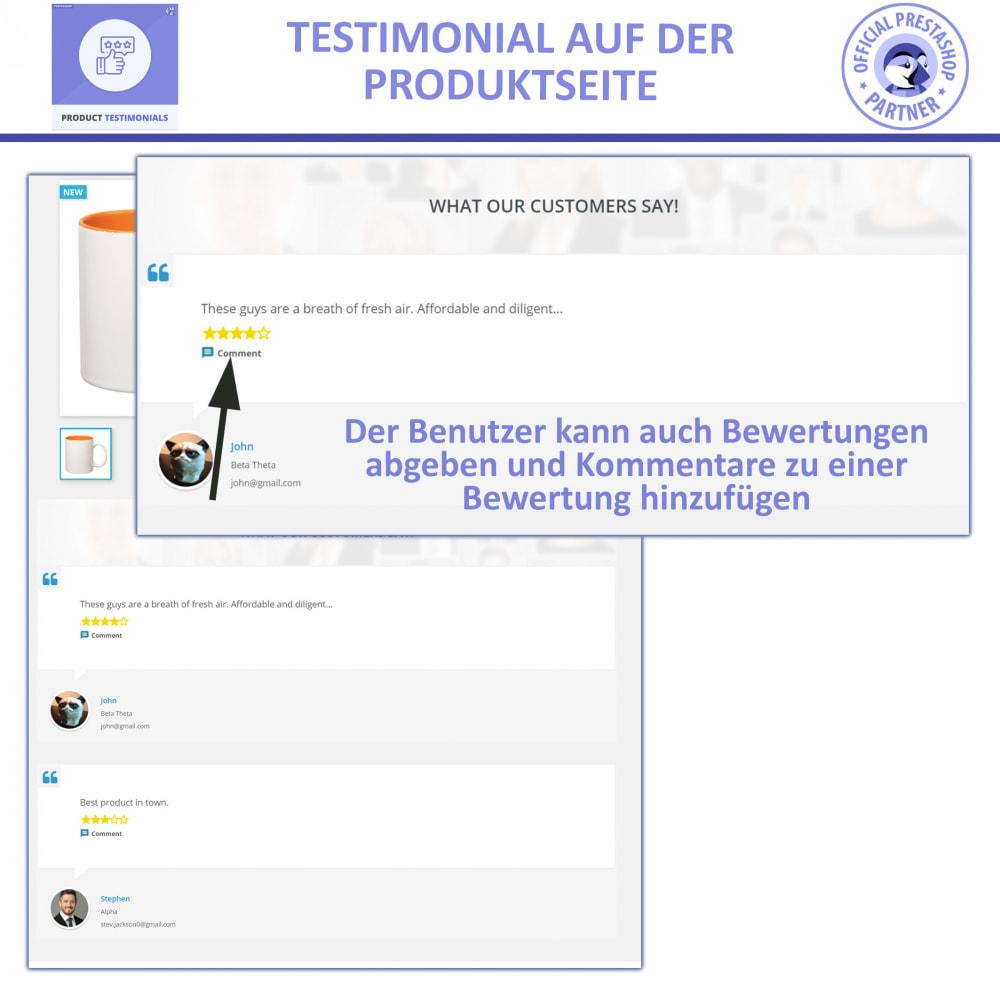 module - Kundenbewertungen - Kunden Produktbewertungen + Shop Bewertungen - 2