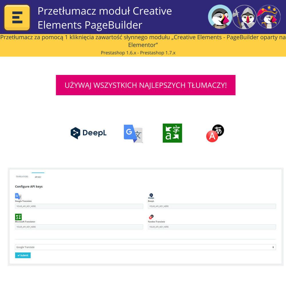module - Międzynarodowość & Lokalizacja - Translate The Creative Elements PageBuilder - 2
