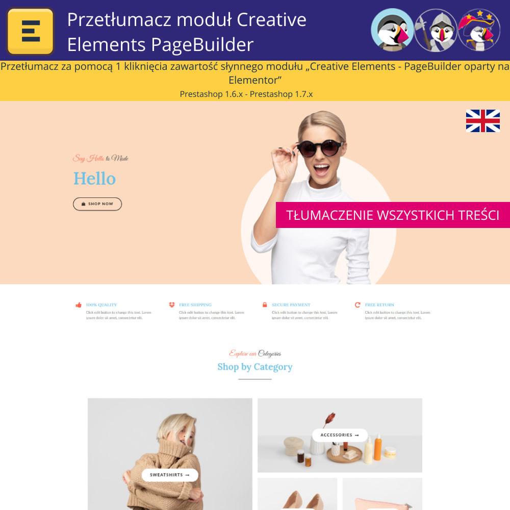 module - Międzynarodowość & Lokalizacja - Translate The Creative Elements PageBuilder - 3