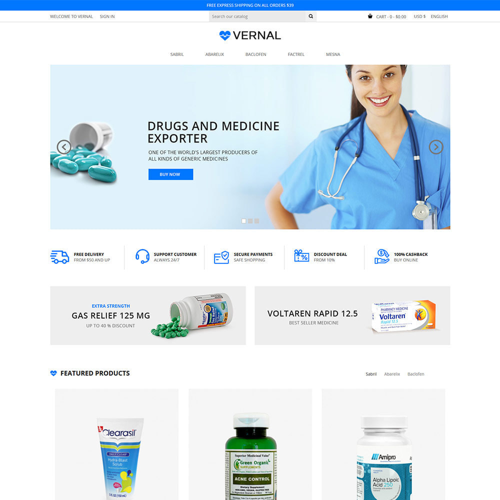 theme - Health & Beauty - Bio Medical - Health, Drug, Pharmacy Store - 2