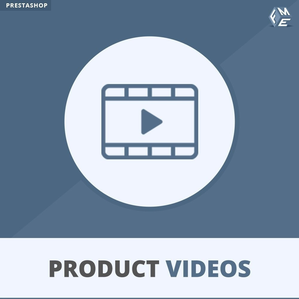 module - Video's & Muziek - Productvideo's - Upload of sluit YouTube, Vimeo in - 1