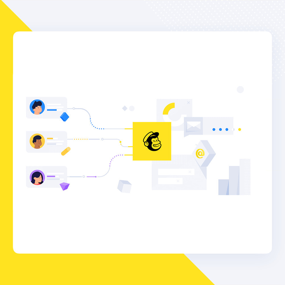 module - Newsletter y SMS - Newsletter Popup: MailChimp, HubSpot, SendinBlue + API - 1
