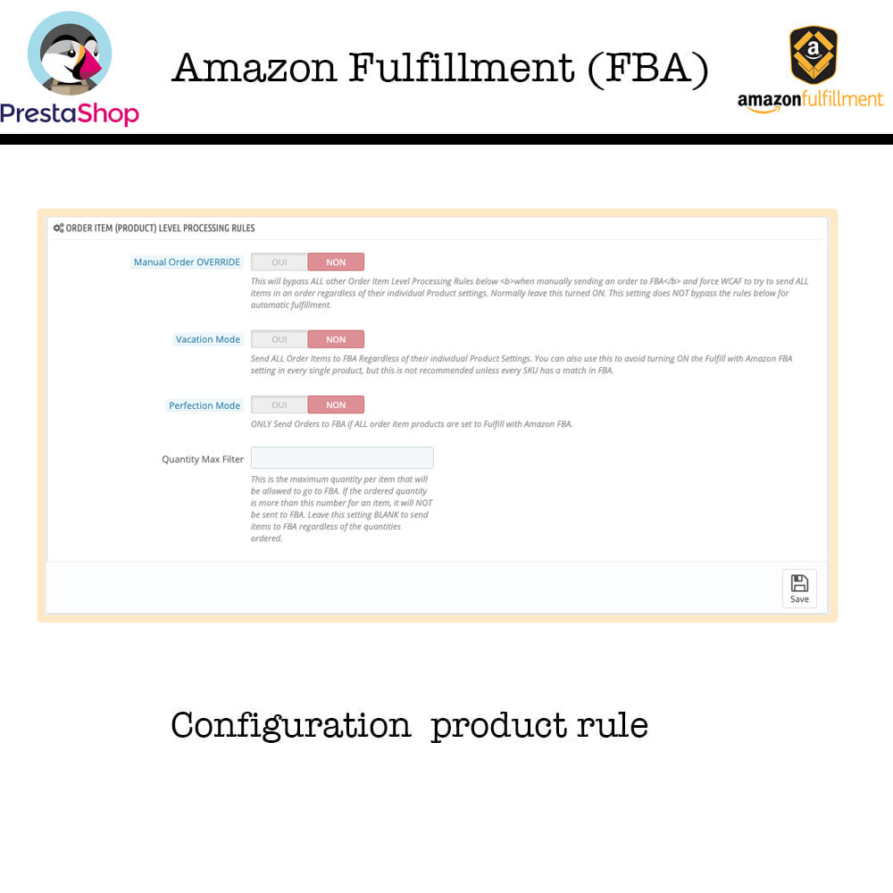 module - Marketplace - Amazon Fulfillment (FBA) - 7
