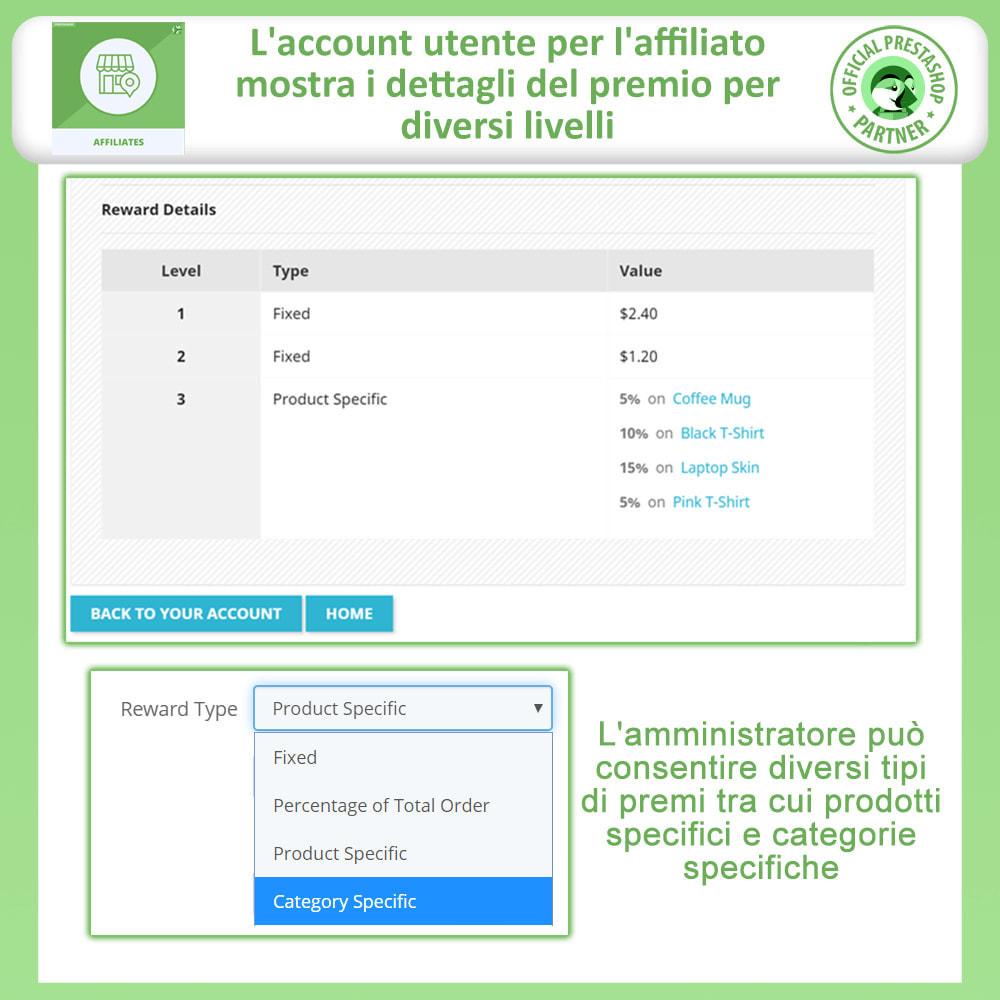 module - Indicizzazione a pagamento (SEA SEM) & Affiliazione - Modulo Pro Affiliati - 3