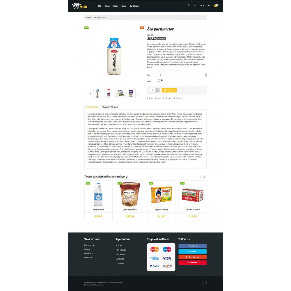 theme - Eten & Restaurant - VP_Milk - Page Builder - 4