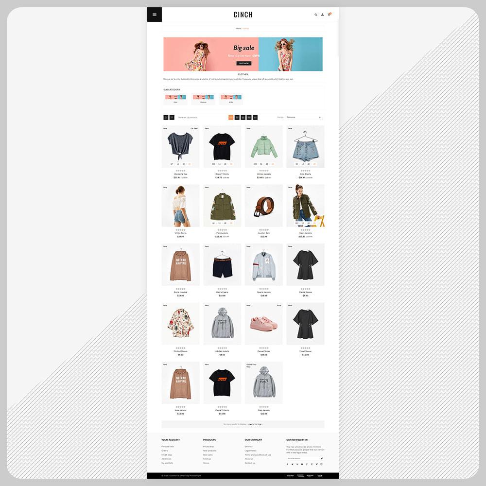 theme - Мода и обувь - Cinch Fashion Super Market - 3