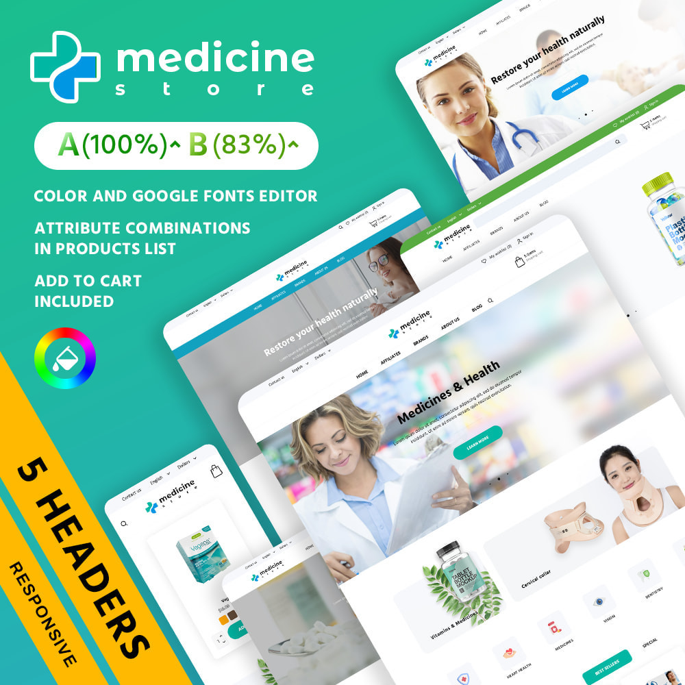 theme - Saúde & Beleza - Medicine - 1