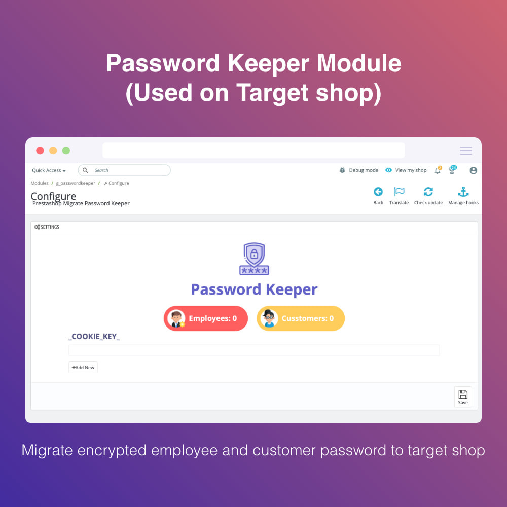 module - Migracja & Backup - Migrate WooCommerce to Prestashop - 2