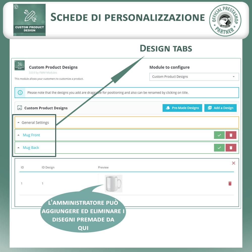 module - Combinazioni & Personalizzazione Prodotti - Designer Prodotto Personalizzato, Personalizza Prodotto - 16