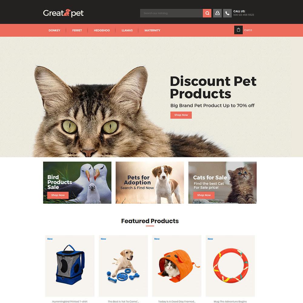 theme - Dieren - Animal Pet - Puppy Cat Store - 1