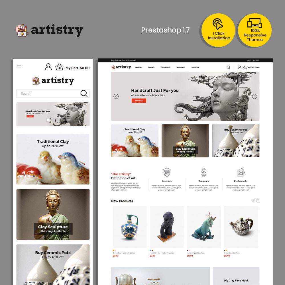 theme - Искусство и Культура - Artist  - Paint  Handcraft Art Store - 1