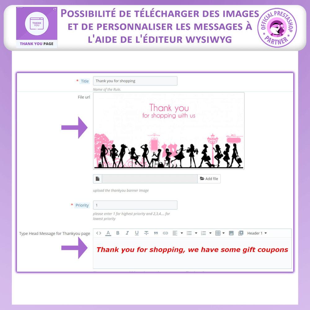 module - Promotions & Cadeaux - Page de Remerciement Avancée - 3