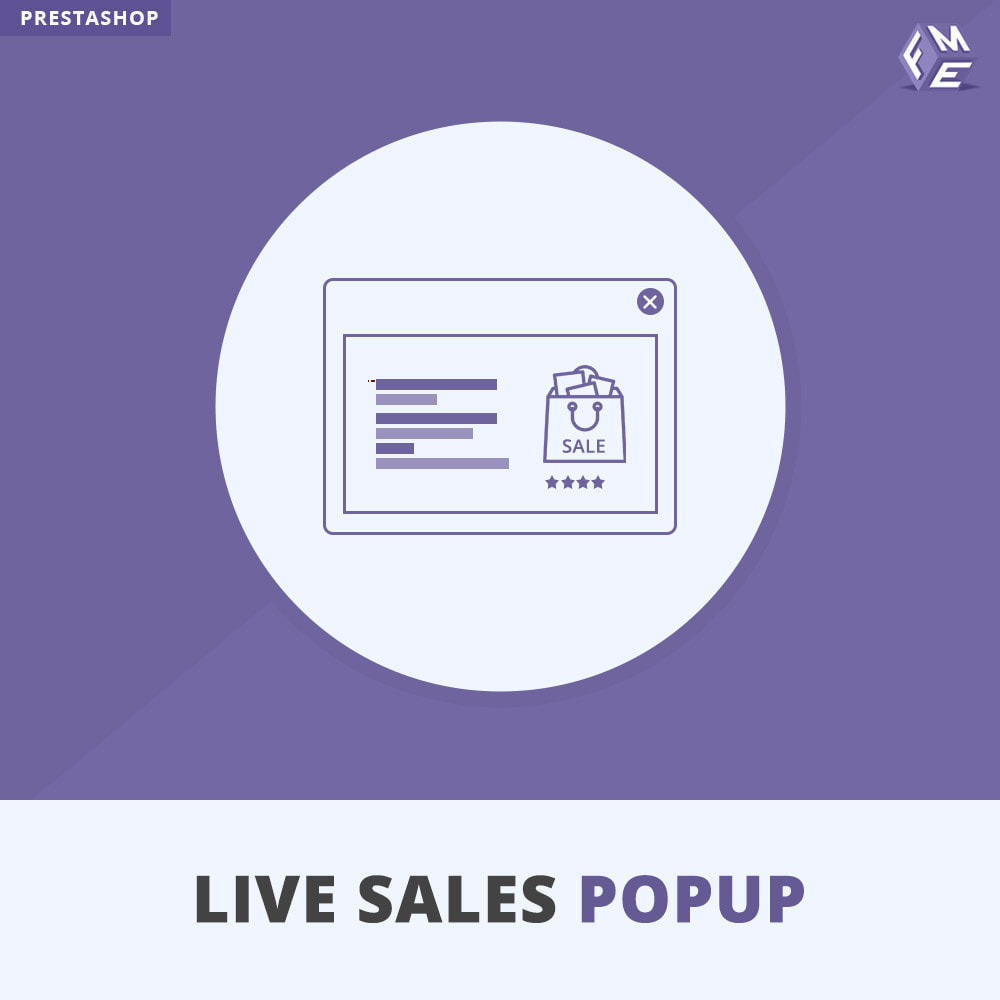 module - Всплывающие окна - Live Sales Popup - 1