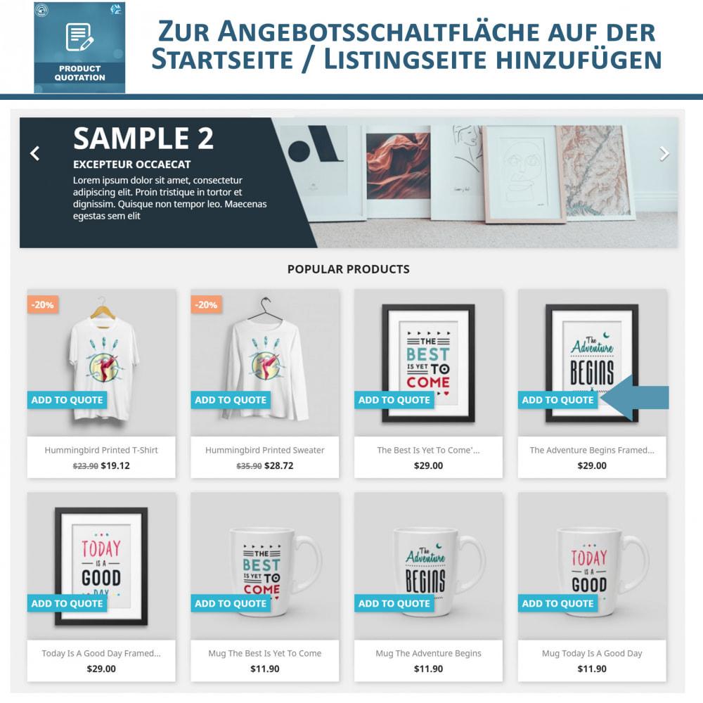 module - Angebotsmanagement - Produkt Zitat Modul - 2