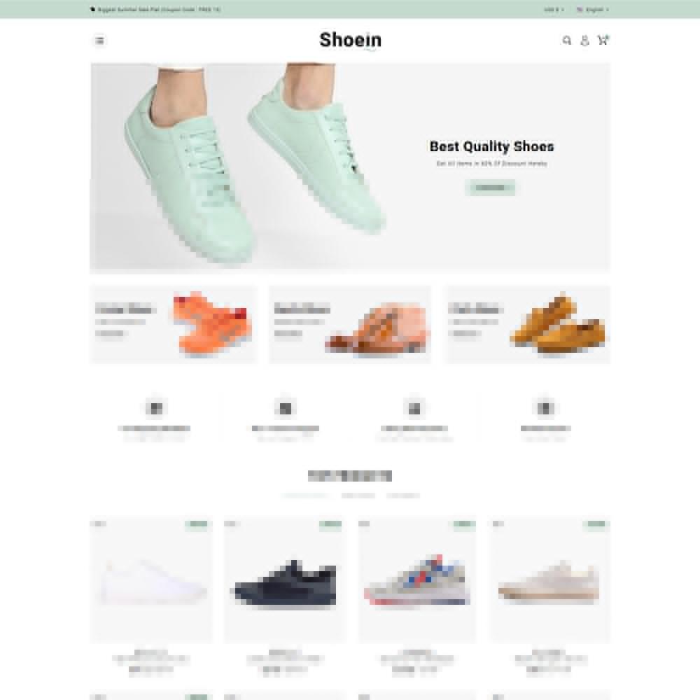 theme - Mode & Schuhe - Shoein - Shoes Store - 2