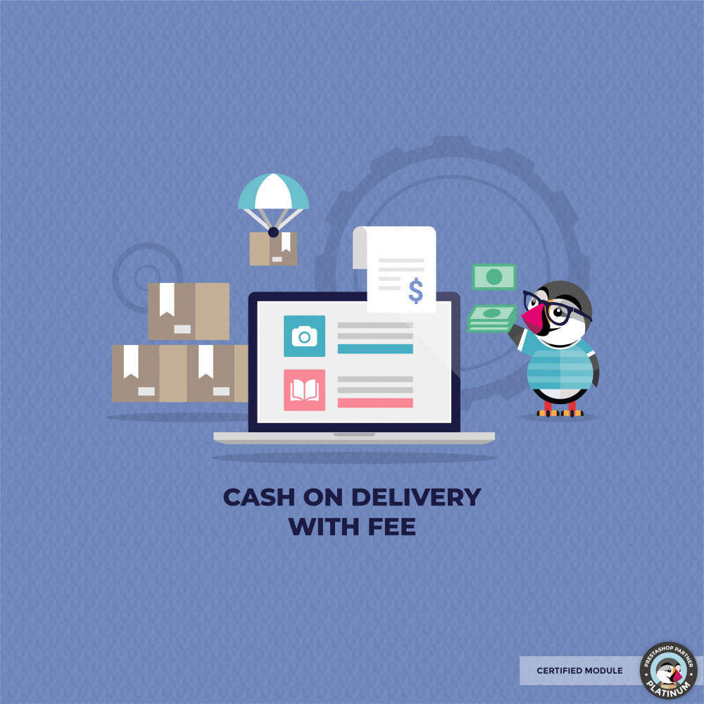 module - Betaling bij Levering - Cashdelivery with fee (COD) - 1