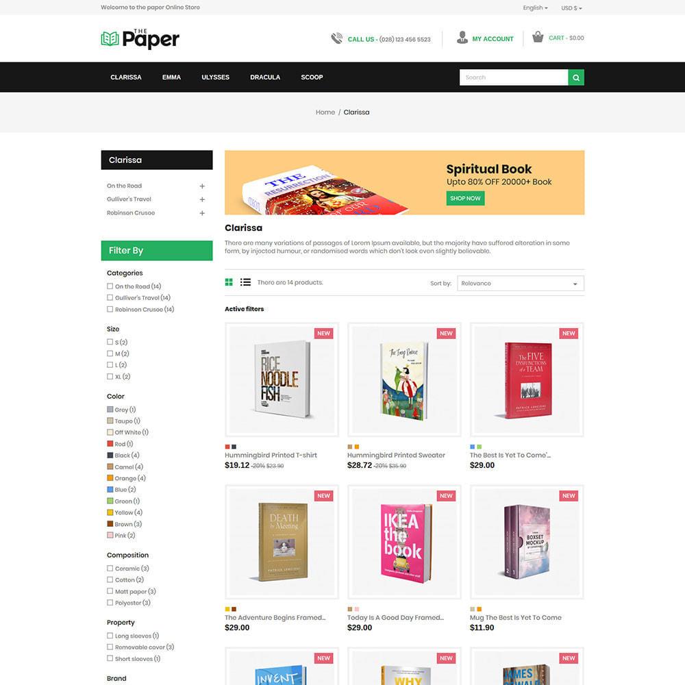 theme - Arte y Cultura - The Paper - Librería - 4