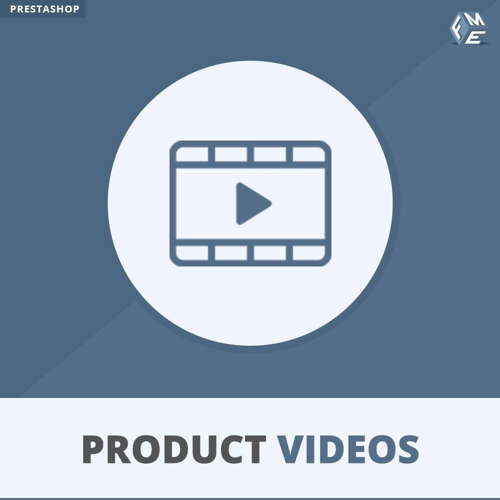 module - Vídeos y Música - Videos de productos - Cargue o incruste YouTube, Vimeo - 1