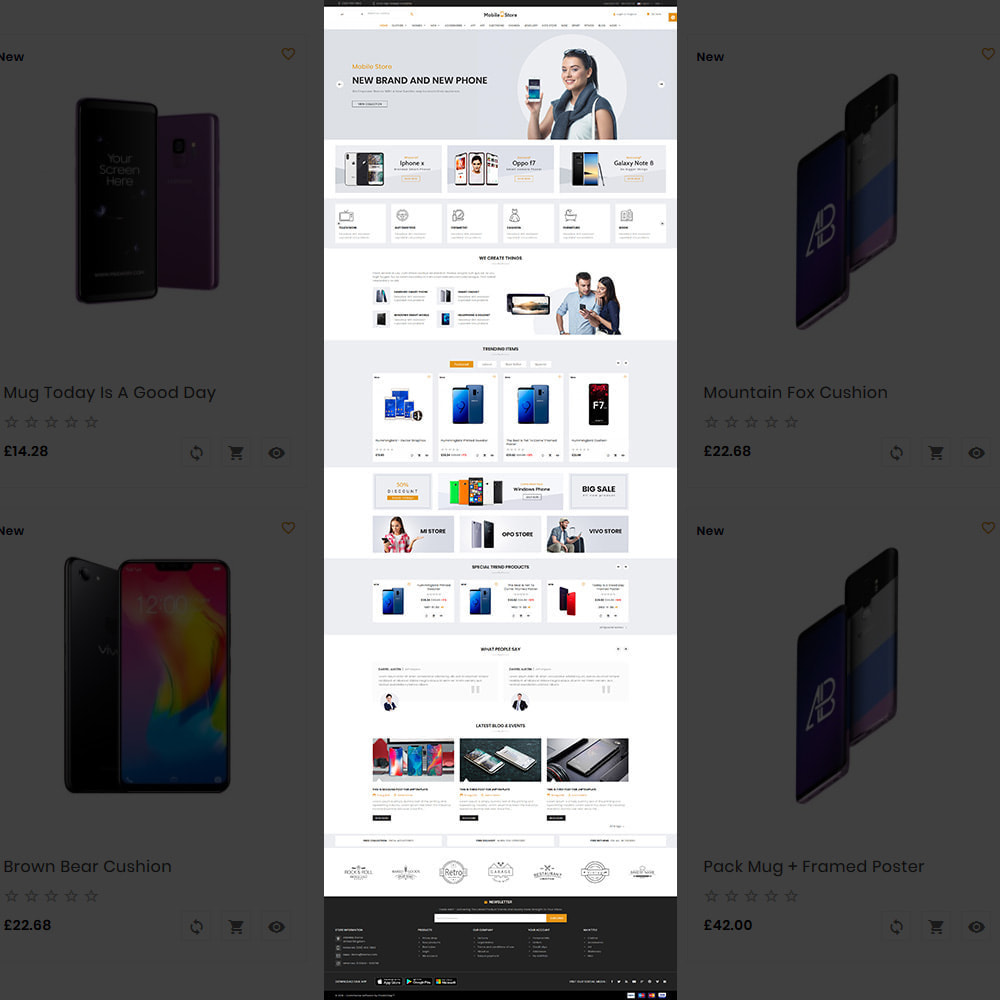 theme - Electronique & High Tech - Mobile  Store – Electronic Store - 2
