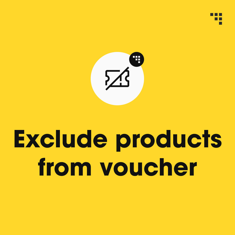 module - Promociones y Regalos - Exclude Products from Voucher - 1