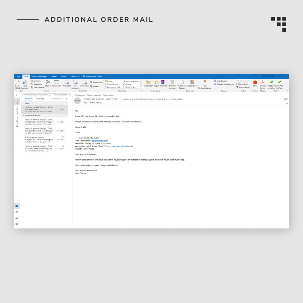 module - Gerenciamento de pedidos - Additional Order Mail - 7