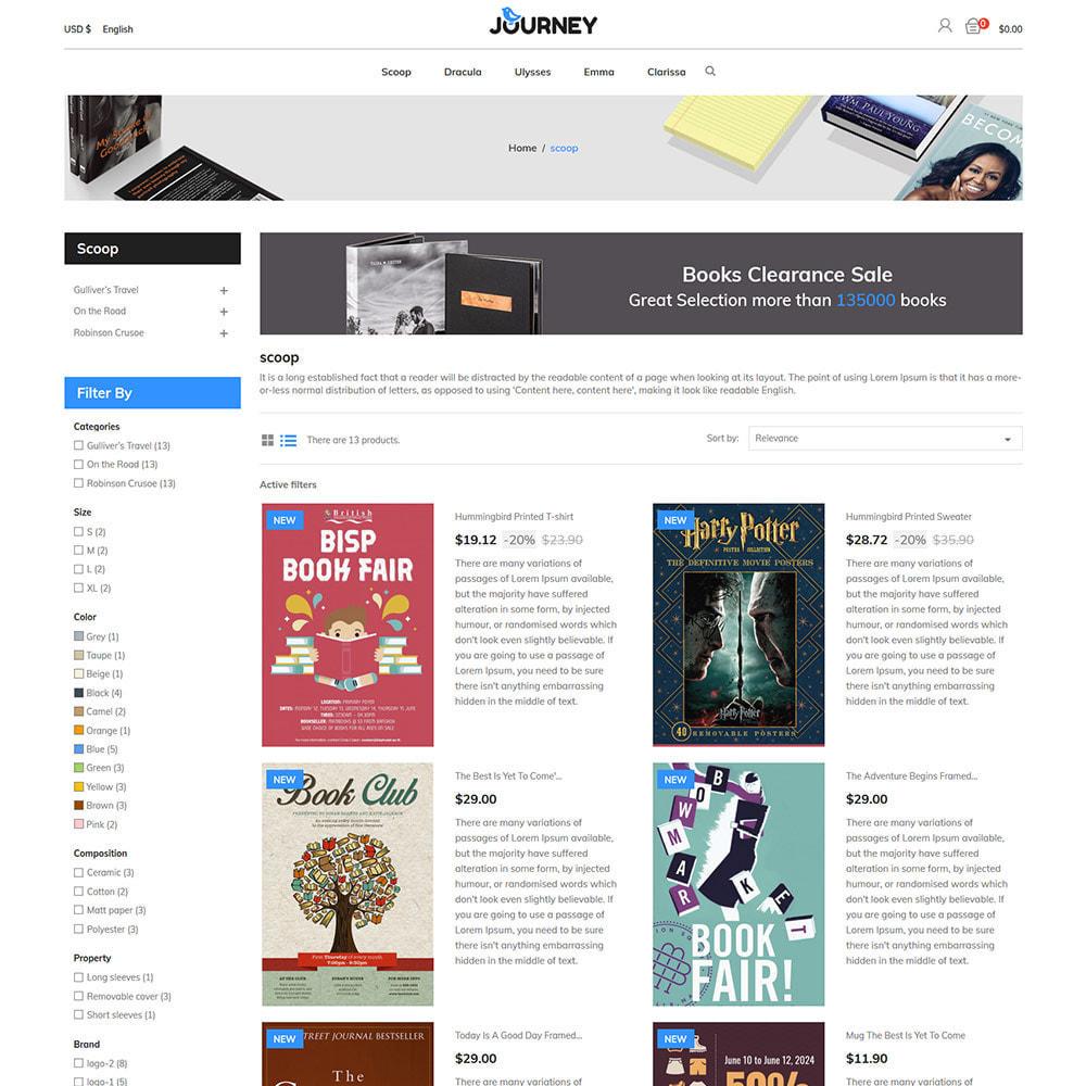 theme - Kultura & Sztuka - Podróż online - Mega Ebook Store - 4