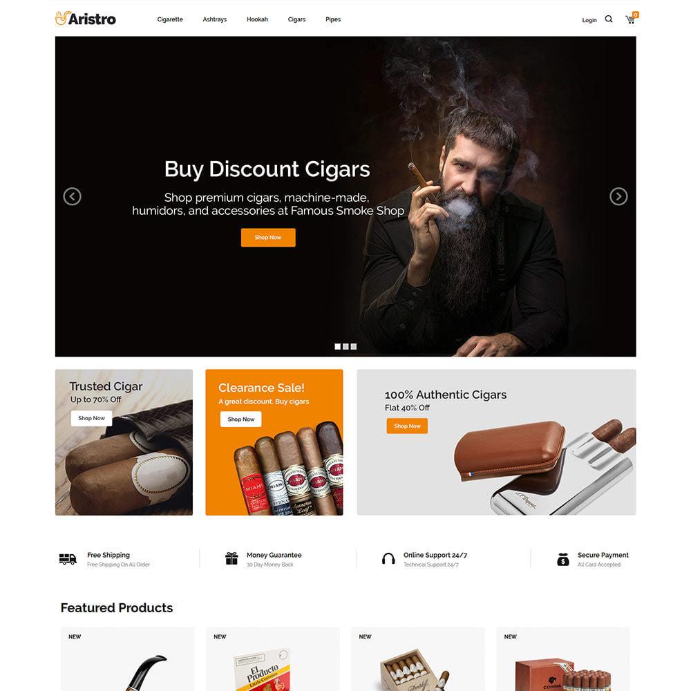theme - Napoje & Wyroby tytoniowe - Aristo Drink - sklep z cygarami - 3