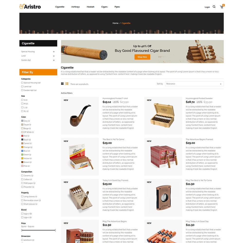 theme - Napoje & Wyroby tytoniowe - Aristo Drink - sklep z cygarami - 5