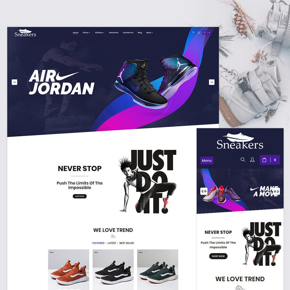 theme - Sport, Attività & Viaggi - Sneakers The Sport Shoes Store - 1