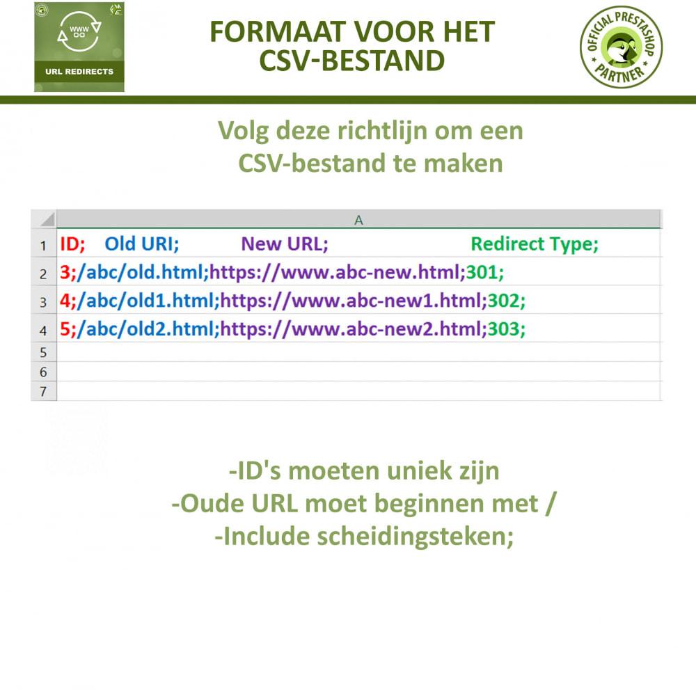 module - URL & Omleidingen - URL-Omleidingen - 301, 302, 303 Omleidingen en 404-URL - 6