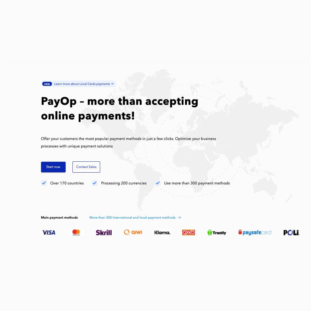 module - Creditcardbetaling of Walletbetaling - PayOp payment gateway - 1