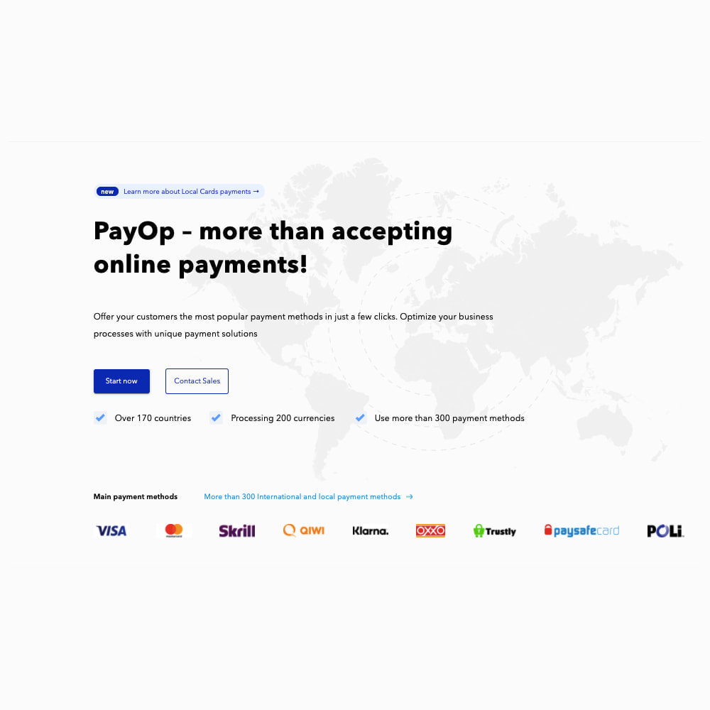 module - Pagamento con Carta di Credito o Wallet - PayOp payment gateway - 1